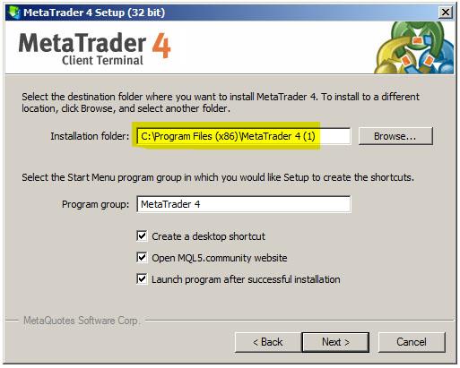 Metatrader 4 one click buy 2 dollar