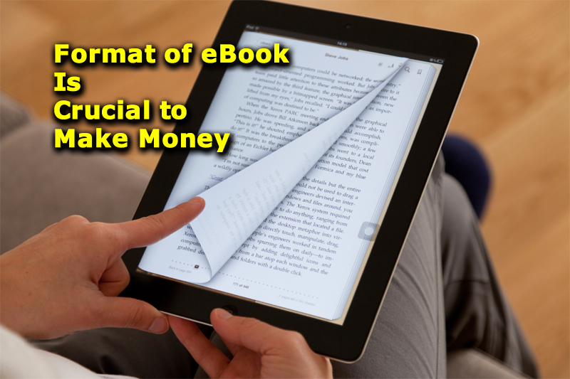 Format of eBook Is Crucial to Make Money