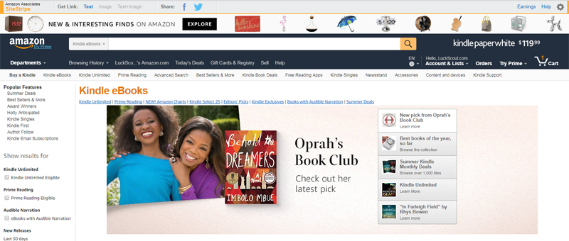 Sell eBooks Through Retail Sites