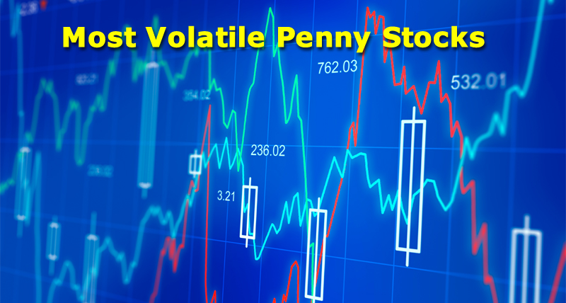 most volatile penny stocks