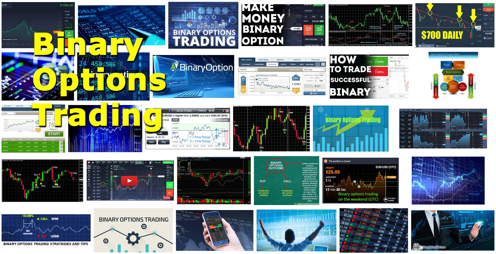 Binary options trading knowledge