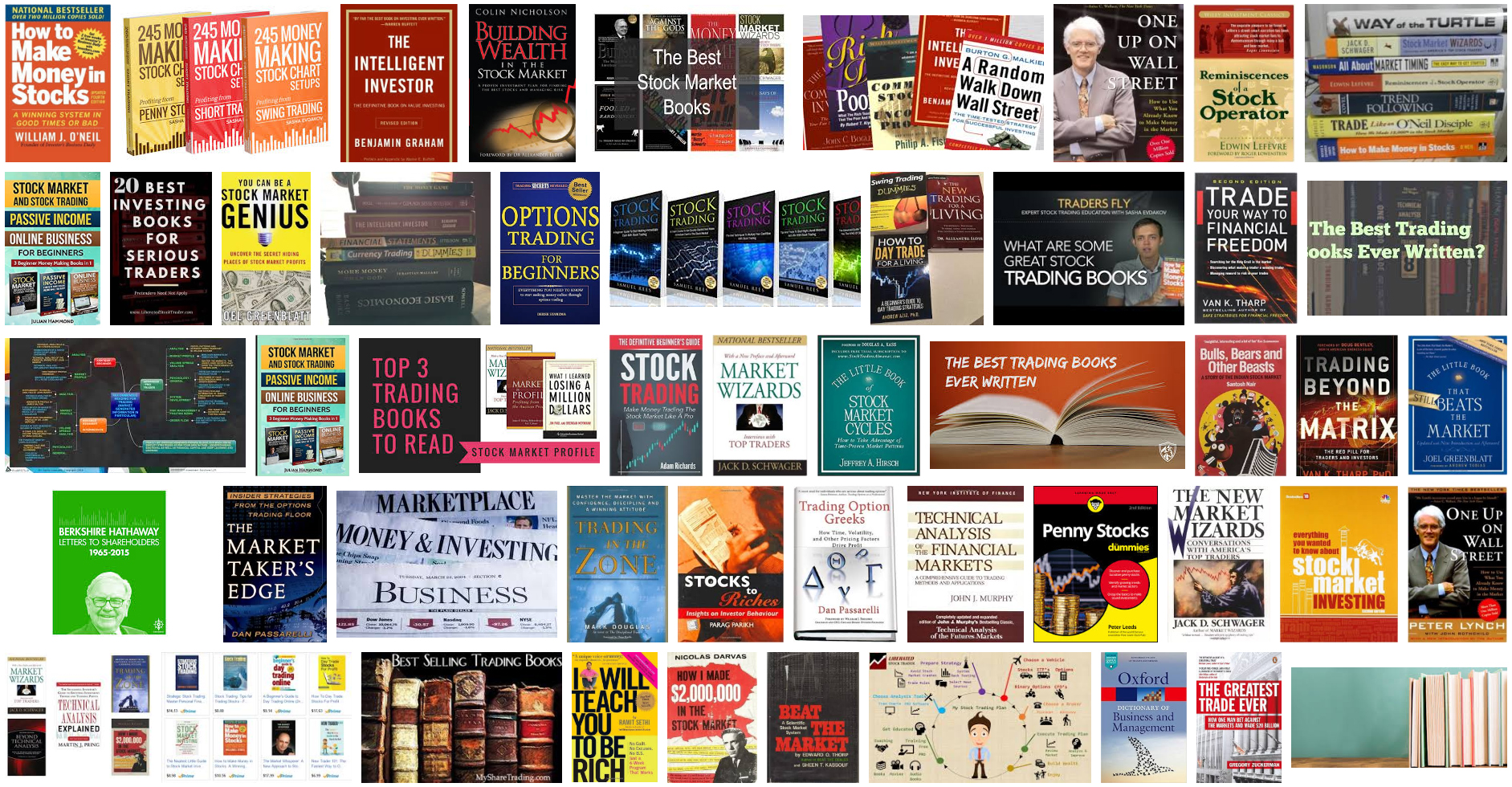 Best Stock Trading Books