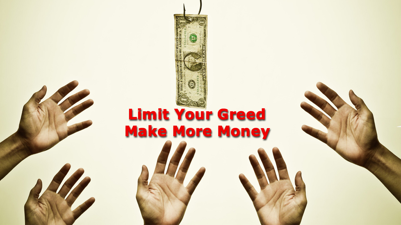 A Forex Trading Plan: Limit Your Greed and Make More Money