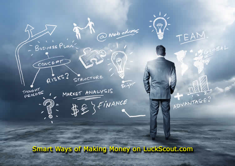 Smart Ways of Making Money on LuckScout.com